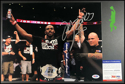 Jon Bones Jones Autographed Signed 11X14 Photo Picture Ufc Mma Psa/dna Coa