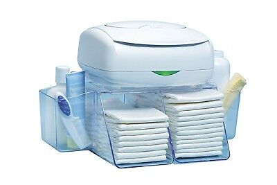 Wipe Warmer Station Baby Diaper Towel Nappy Lotion Bag Box Carrier Dresser Depot