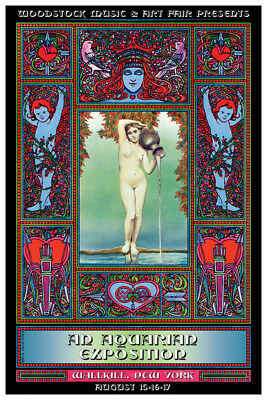 Woodstock An Aquarian Exposition Music Poster 24x36 inch