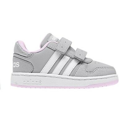 best website 56662 9e4b1 Scarpe Adidas Hoops Mid 2.0 Cmf I F35896 Shoes Basketball Bambino Grigio  Pink