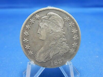 1831 Capped Bust Silver Half Dollar - Very Fine