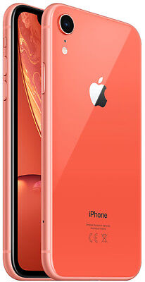 Apple iPhone XR 64GB ITALIA Coral Corallo LTE NUOVO Originale Smartphone iOS12