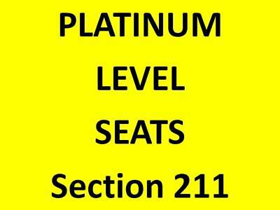 Dallas Stars vs. Philadelphia Flyers * Platinum Seats * Section 211, Row C