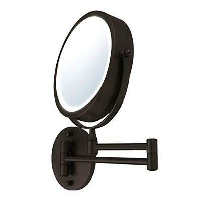 Ovente Wall Mount LED Lighted Makeup Mirror MFW70  Assorted Sizes , Colors