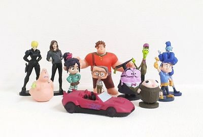 Wreck It Ralph (Ralph Breaks The Internet) Cake Toppers Set of 12 Figures