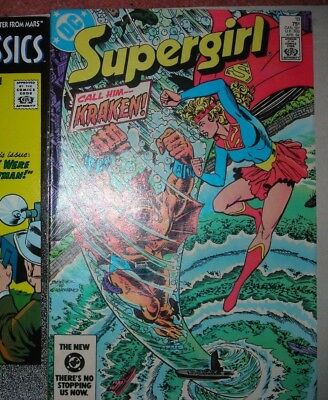 Supergirl 18 DC COMIC FN GLOSSY APR 1984 bronze age MORE LISTED