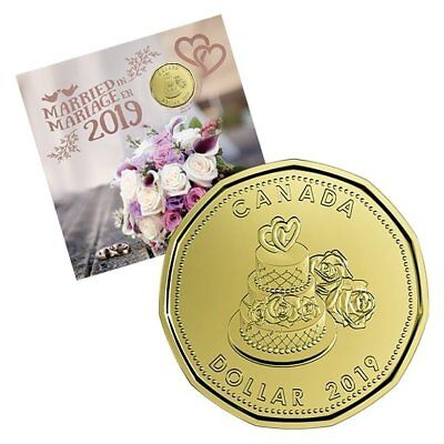 MARRIED GIFT SET – 2019 Uncirculated Coin Set with Limited Edition Loonie