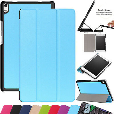 Leather Slim Magnetic Smart Stand Case Cover For Lenovo Tab 4 8 Plus Sleep Awake