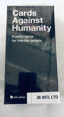 Cards Against Humanity UK V2.0 Latest Edition New Sealed 600 Cards