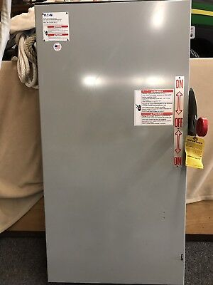 Eaton Double Throw 200 Amp Generator Transfer Switch DT224URK-NPS