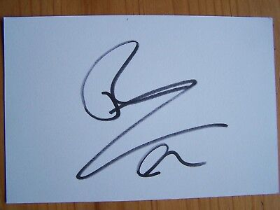Rafael Nadal Tennis Legend 6x4 Signed White Card