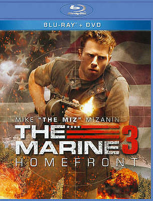 The Marine 3: Homefront (Blu-ray/DVD, 2013), 2-Disc Set, NEW and Factory Sealed
