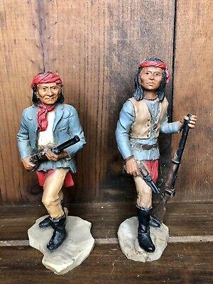 CASTAGNA  1988 Native American Lot of 2 Italy Vintage