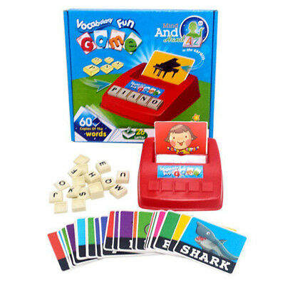 English Spelling Alphabet Letter Game Phonics Interactive Early Educational Toy