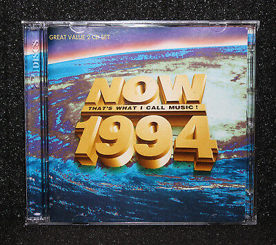 NOW That's What I Call Music 1994 2 CD Set UK Import Album Sounds Of The 90s Pop