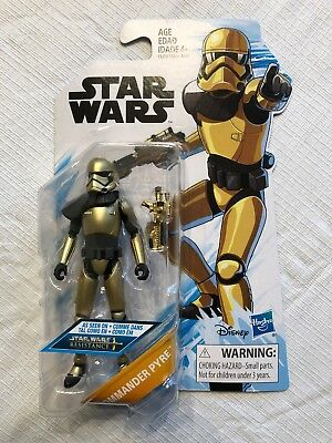"Commander Pyre - Sealed 3.75"" series figure - Star Wars - Animated Resistance"