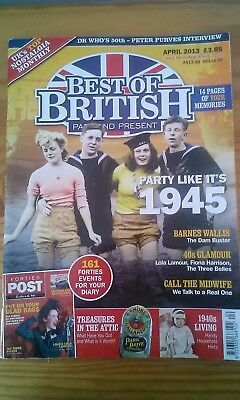 Best Of British Past & Present Magazine April  2013