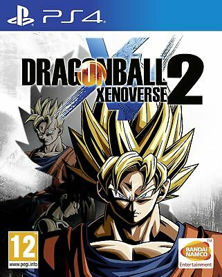 Dragonball Xenoverse 2 (PS4) NEW & SEALED Fast Dispatch Free UK P&P