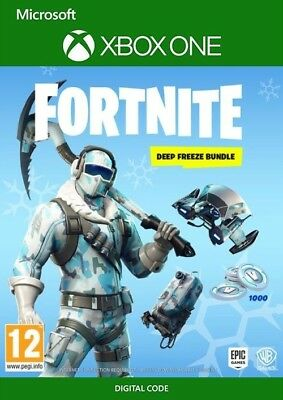 Fortnite Deep Freeze Bundle xbox digital code