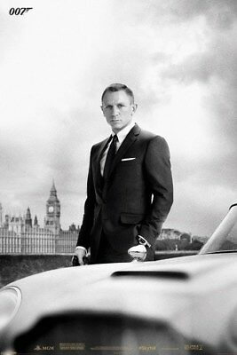 James Bond Poster Daniel Craig is Smooth, Suave And Sophisticated 61 x 91.5cm