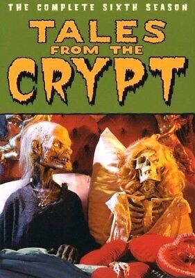 Tales from the Crypt The Complete Sixth Season 6 - 1994 (DVD, 3-Disc)