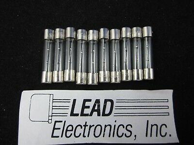 10x MDL 2-1/2 MDL 2.5A ,31302.5 6MM X 30MM SLO-BLO 2 1/2-AMP 125-VOLT GLASS FUSE