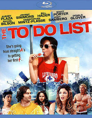 The To Do List (Blu-Ray) New Factory Sealed, Free Shipping