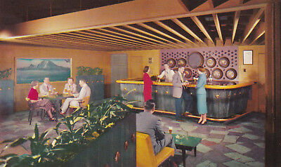 Rainier Beer Brewery Taproom Seattle Washington Postcard 1960's