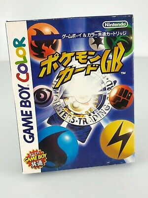 Pokemon trading card game + carte promo - Jeu Game Boy Color - complet - JAP