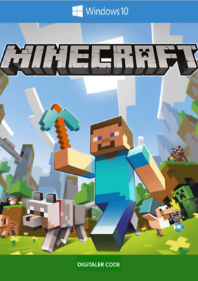 Minecraft Windows 10 Edition | PC-Key Download Code | Expreslieferung per E-Mail