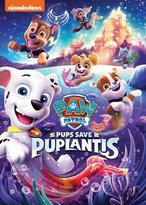 Paw Patrol: Pups Save Puplantis (REGION 1 DVD New)
