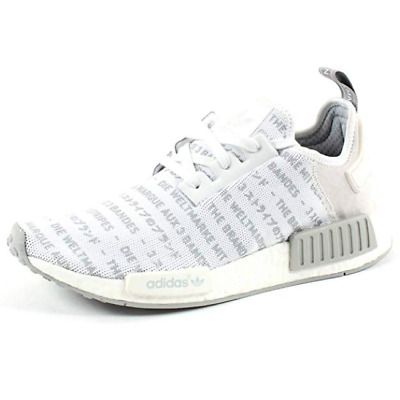 buy online f6316 d0dcb ADIDAS NMD R1 Whiteout Blackout Boost Trainers Sneaker Ltd Edition Runner  S76518