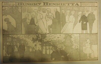 Hungry Henrietta by Winsor McCay from ?/1906 ! Half Page Size! 11 x 15 inches