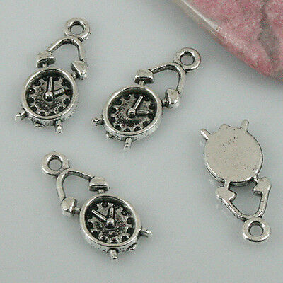 24pcs tibetan silver color music instrument charms EF1972