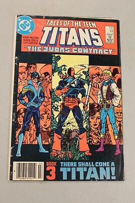 Tales of the Teen Titans #44 Fine- 1st App Dick Grayson Nightwing 1984 Key Book