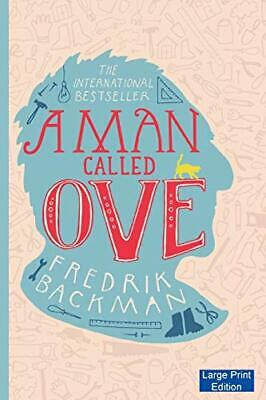A Man Called Ove (Large Print Edition) by Backman, Fredrik Book The Cheap Fast