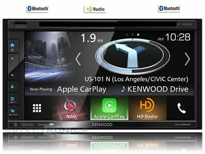 Kenwood DNX694S Built-In GPS, Car Play, HD Radio, Bluetooth, USB MP3, DVD 2-DIN