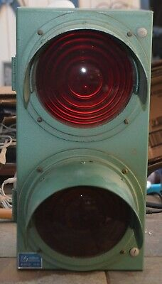 Red and Yellow Traffic Signal Light