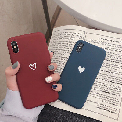 Slim Matte ShockProof Silicone Phone Case Cover For iPhone 7 8 Plus X XS MAX XR