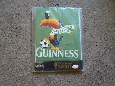 Guinness Toucan T Shirt. Bnwt , Size Large