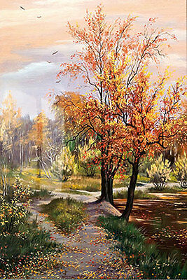CHENPAT52 modern oil painting landscape tree 100% hand-painted art on canvas