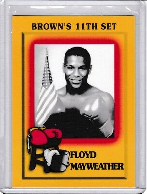 1997 Brown's Boxing Complete Set 88 Cards Floyd Mayweather Jr. RC