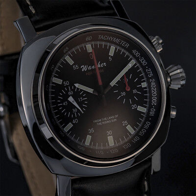 WANCHER FORTITUDE Chronograph ST19 Cloned Tachymeter Hand-Wind Mechanical Watch