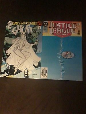 adam hughes signed comics lot 1st appearance of ghost justice league of america