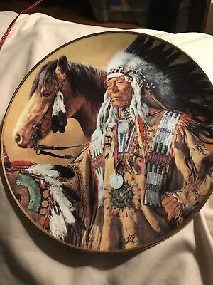 Indian Heritage Museum Presents Pride Of The Sioux Plate