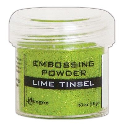 Ranger Embossing Powder 1oz. - Lime Tinsel