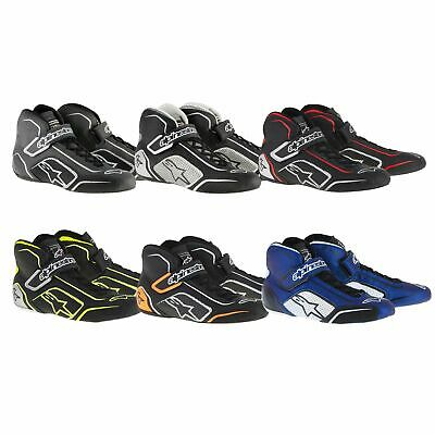 Alpinestars Tech 1-T FIA Approved Leather & Nomex Fireproof Race / Rally Boots