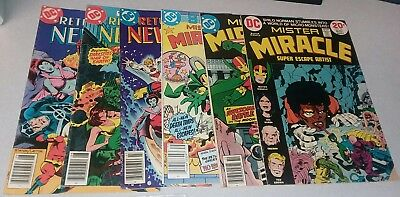 Mister Miracle new gods Bronze Age Comic lot early appearance darkseid 1st print