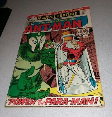 MARVEL FEATURE #7 comics 1973 ANT-MAN BRONZE AGE lot run set movie collection