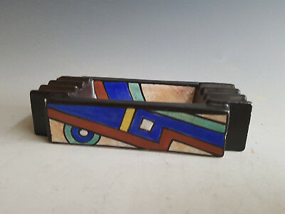 Art Deco Antoine Dubois Mons Cubist And Modernist Ashtray 1920-1925 Belgium